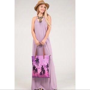 Dresses & Skirts - Jes Lavender Racer Back Maxi